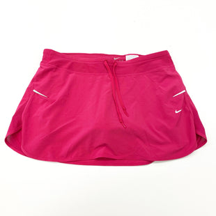 Primary Photo - BRAND: NIKE STYLE: ATHLETIC SKIRT SKORT COLOR: PINK SIZE: M SKU: 180-18083-25389