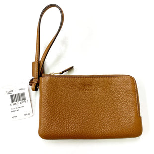 Primary Photo - BRAND: COACH STYLE: WRISTLET COLOR: BROWN SIZE: S SKU: 180-18083-21023