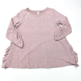 Primary Photo - BRAND: TERRA & SKY STYLE: TOP LONG SLEEVE COLOR: DUSTY PINK SIZE: 1X SKU: 180-18038-104642