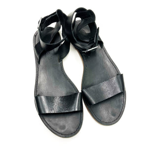 Primary Photo - BRAND: MADEWELL STYLE: SANDALS FLAT COLOR: BLACK SIZE: 8 SKU: 180-18071-7571