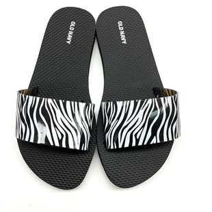 Primary Photo - BRAND: OLD NAVY STYLE: FLIP FLOPS COLOR: ANIMAL PRINT SIZE: 7 SKU: 180-18071-4557
