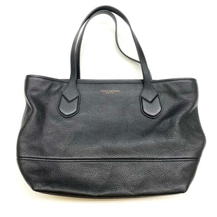 Primary Photo - BRAND: MARC JACOBS STYLE: HANDBAG DESIGNER COLOR: BLACK SIZE: MEDIUM OTHER INFO: M0011984, CLASSIC LEATHER TOTE. SKU: 180-18083-20775