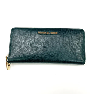Primary Photo - BRAND: MICHAEL KORS STYLE: WALLET COLOR: GREEN SIZE: LARGE OTHER INFO: NO STRAP, AS IS SKU: 180-18038-106324