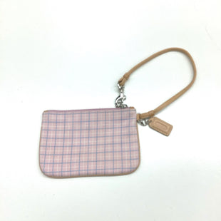 Primary Photo - BRAND: COACH STYLE: WRISTLET COLOR: PINK SKU: 180-18083-21200