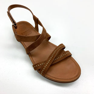 Primary Photo - BRAND: FITFLOP STYLE: SANDALS FLAT COLOR: TAN SIZE: 10 SKU: 180-18038-93125