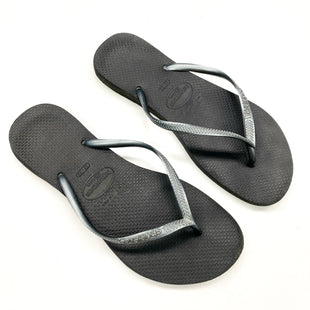 Primary Photo - BRAND: HAVAIANAS STYLE: FLIP FLOPS COLOR: GREY SIZE: 9 SKU: 180-18071-10629