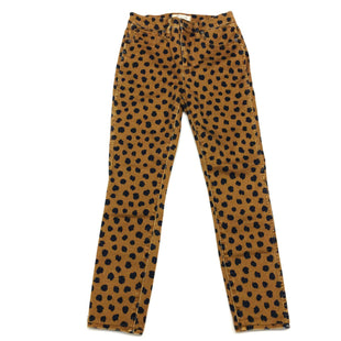 Primary Photo - BRAND: MADEWELL STYLE: JEANS COLOR: ANIMAL PRINT SIZE: 4 OTHER INFO: (26) SKU: 180-18038-90257