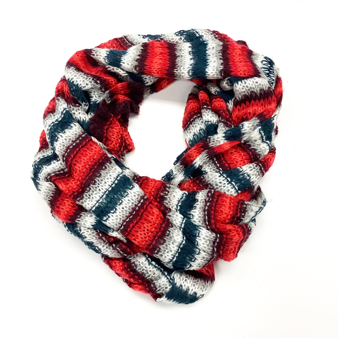 Photo #2 - BRAND:    CLOTHES MENTOR <BR>STYLE: SCARF WINTER <BR>COLOR: STRIPED <BR>SKU: 180-18071-9260
