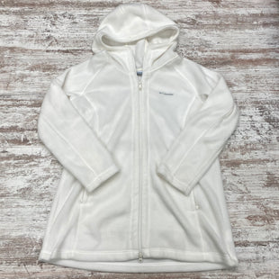 Primary Photo - BRAND: COLUMBIA STYLE: FLEECE COLOR: WHITE SIZE: XL SKU: 180-18083-24728