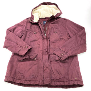 Primary Photo - BRAND: AMERICAN EAGLE STYLE: COAT SHORT COLOR: BURGUNDY SIZE: XL SKU: 180-18038-102612