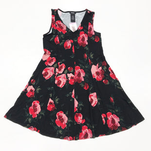 Primary Photo - BRAND: PREMISE STYLE: DRESS SHORT SLEEVELESS COLOR: BLACK RED SIZE: S SKU: 180-18071-10469