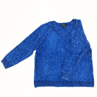 Primary Photo - BRAND: KAREN KANE STYLE: SWEATER LIGHTWEIGHT COLOR: BLUE SIZE: 3X SKU: 180-18072-2067