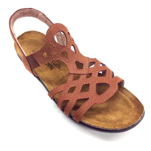 Primary Photo - BRAND: NAOT STYLE: SANDALS FLAT COLOR: BROWN SIZE: 7.5 SKU: 180-18071-4543