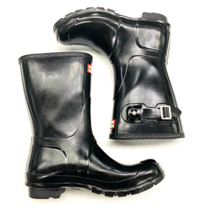 Primary Photo - BRAND: HUNTER STYLE: BOOTS DESIGNER COLOR: BLACK SIZE: 7 OTHER INFO: SHORT, AS IS SKU: 180-18083-21058