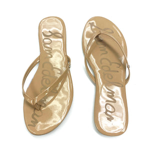 Primary Photo - BRAND: SAM EDELMAN STYLE: FLIP FLOPS COLOR: NUDE SIZE: 10 SKU: 180-18038-91629