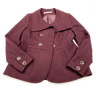 Primary Photo - BRAND: KENNETH COLE STYLE: COAT WOOL COLOR: BURGUNDY SIZE: M OTHER INFO: (10) SKU: 180-18038-102587