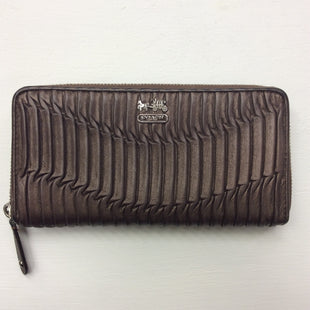 Primary Photo - BRAND: COACH STYLE: WALLET COLOR: BROWN SIZE: MEDIUM OTHER INFO: AS IS SKU: 180-18038-86704