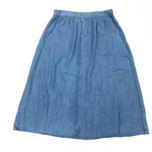 Primary Photo - BRAND: CHRISTOPHER AND BANKS STYLE: SKIRT COLOR: DENIM SIZE: 14 SKU: 180-18083-24491