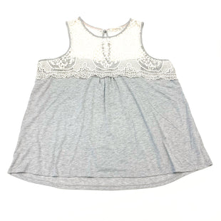 Primary Photo - BRAND: REWIND STYLE: TOP SLEEVELESS COLOR: GREY WHITE SIZE: 3X SKU: 180-18071-11458