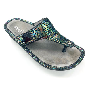 Primary Photo - BRAND: ALEGRIA STYLE: SANDALS LOW COLOR: METALLIC SIZE: 9 OTHER INFO: (40) AS IS SKU: 180-18038-106275