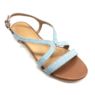Primary Photo - BRAND: TALBOTS STYLE: SANDALS FLAT COLOR: BABY BLUE SIZE: 6 SKU: 180-18083-16048