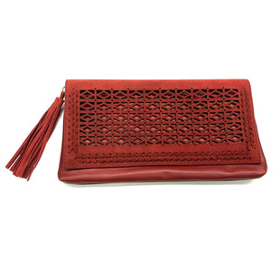 Primary Photo - BRAND: WHITE HOUSE BLACK MARKET O STYLE: CLUTCH COLOR: BRICK RED SKU: 180-18083-14606