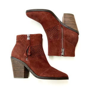 Primary Photo - BRAND: LUCKY BRAND STYLE: BOOTS ANKLE COLOR: BRICK RED SIZE: 8.5 SKU: 180-18038-88058
