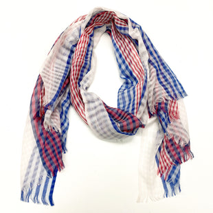 Primary Photo - BRAND:    CLOTHES MENTOR STYLE: SCARF COLOR: RED WHITE BLUE SKU: 180-18071-12458