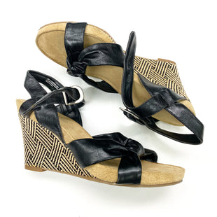 Primary Photo - BRAND: AEROSOLES STYLE: SANDALS LOW COLOR: BLACK SIZE: 10 SKU: 180-18071-11215