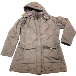Primary Photo - BRAND: LANDS END STYLE: COAT SHORT COLOR: BROWN SIZE: S SKU: 180-18071-9542