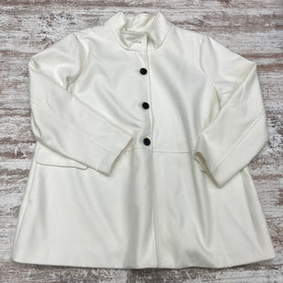 Primary Photo - BRAND: OLD NAVY STYLE: COAT SHORT COLOR: WHITE SIZE: 3X SKU: 180-18083-24484