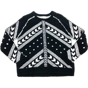Primary Photo - BRAND: PHILOSOPHY STYLE: SWEATER HEAVYWEIGHT COLOR: BLACK WHITE SIZE: S SKU: 180-18038-94498