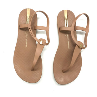 Primary Photo - BRAND:    CLOTHES MENTOR STYLE: SANDALS FLAT COLOR: TAN SIZE: 6 OTHER INFO: IPANEMA - AS IS SKU: 180-18038-103988