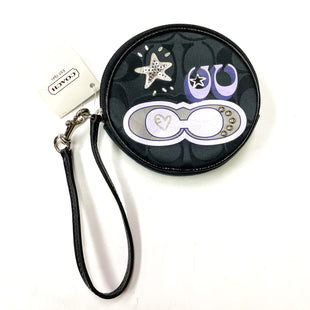 Primary Photo - BRAND: COACH STYLE: COIN PURSE COLOR: BLACK SIZE: SMALL SKU: 180-18083-20918