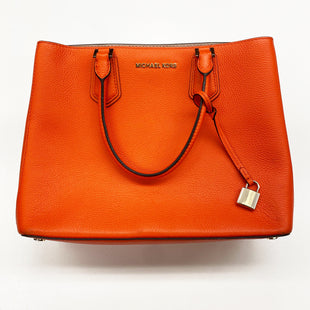 Primary Photo - BRAND: MICHAEL KORS STYLE: HANDBAG DESIGNER COLOR: ORANGE SIZE: MEDIUM OTHER INFO: AS IS SKU: 180-18071-7732