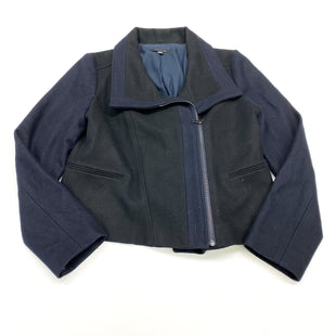 Primary Photo - BRAND: ANN TAYLOR STYLE: JACKET OUTDOOR COLOR: NAVY SIZE: L OTHER INFO: (12) SKU: 180-18038-100305