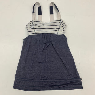 Primary Photo - BRAND: LULULEMON STYLE: ATHLETIC TANK TOP COLOR: BLUE SIZE: XS OTHER INFO:  DESIGNER SKU: 180-18083-15624SIZE 2