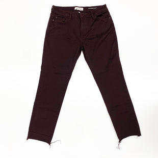 Primary Photo - BRAND: DL1961 STYLE: PANTS COLOR: BURGUNDY SIZE: 10 SKU: 180-18074-1294