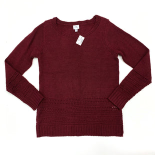Primary Photo - BRAND: DRESS BARN STYLE: SWEATER LIGHTWEIGHT COLOR: BURGUNDY SIZE: XS SKU: 180-18038-86675