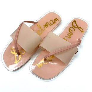 Primary Photo - BRAND: SAM EDELMAN STYLE: SANDALS FLAT COLOR: PINK SIZE: 8.5 OTHER INFO: AS IS SKU: 180-18083-25513