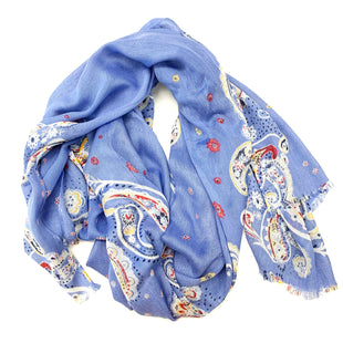 Primary Photo - BRAND:    CLOTHES MENTOR STYLE: SCARF COLOR: BLUE SKU: 180-18083-26300
