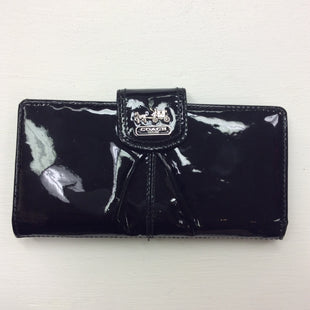 Primary Photo - BRAND: COACH STYLE: WALLET COLOR: BLACK SIZE: MEDIUM OTHER INFO: AS IS SKU: 180-18038-84793