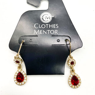 Primary Photo - BRAND: NAPIER STYLE: EARRINGS COLOR: RED SKU: 180-18057-13952
