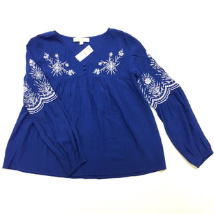 Primary Photo - BRAND: ANN TAYLOR LOFT O STYLE: TOP LONG SLEEVE COLOR: ROYAL BLUE SIZE: XS SKU: 180-18083-13475