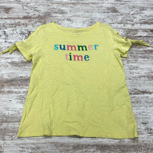 Primary Photo - BRAND: TALBOTS STYLE: TOP SHORT SLEEVE BASIC COLOR: YELLOW SIZE: PETITE  MEDIUM SKU: 180-18083-24777