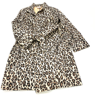 Primary Photo - BRAND: CHICOS O STYLE: JACKET OUTDOOR COLOR: LEOPARD PRINT SIZE: M SKU: 180-18083-23510