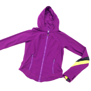 Primary Photo - BRAND: LULULEMON STYLE: ATHLETIC JACKET COLOR: PURPLE SIZE: S SKU: 180-18071-2501HAS PONYTAIL HOLE IN HOOD AS SHOWN IN LAST PICTURE.