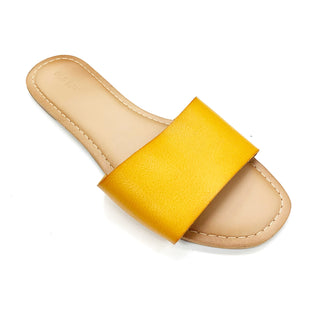 Primary Photo - BRAND: OLD NAVY STYLE: SANDALS FLAT COLOR: GOLD SIZE: 7 SKU: 180-18071-11575