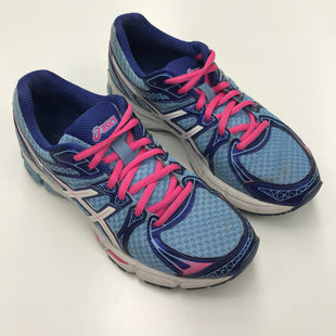 Primary Photo - BRAND: ASICS STYLE: SHOES ATHLETIC COLOR: BLUE SIZE: 7.5 OTHER INFO: AS IS SKU: 180-18038-84403