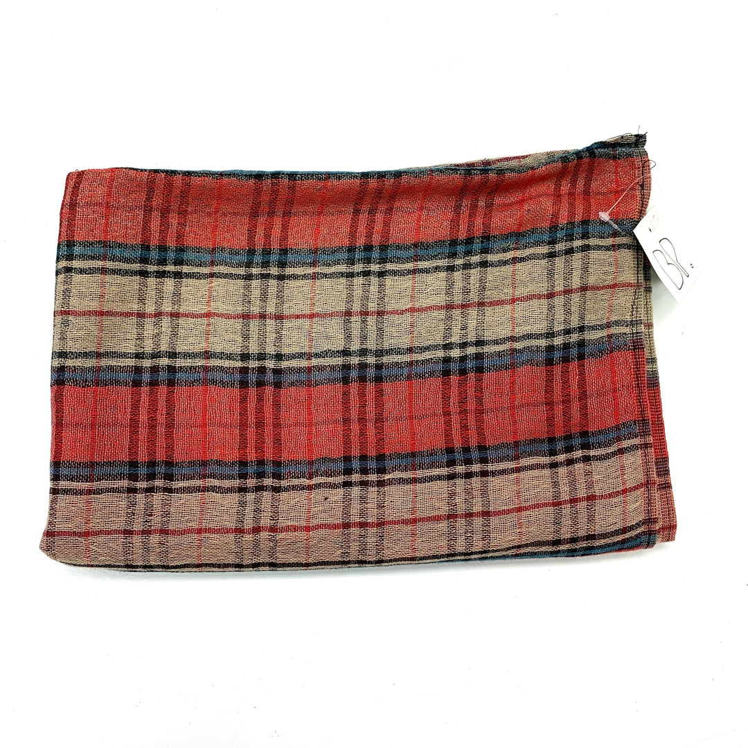 Photo #1 - BRAND: BP <BR>STYLE: SCARF <BR>COLOR: PLAID <BR>SKU: 180-18083-24259